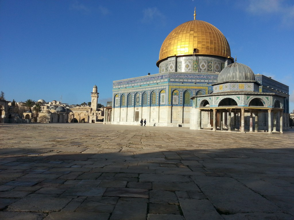 Chrámová hora Jeruzalém