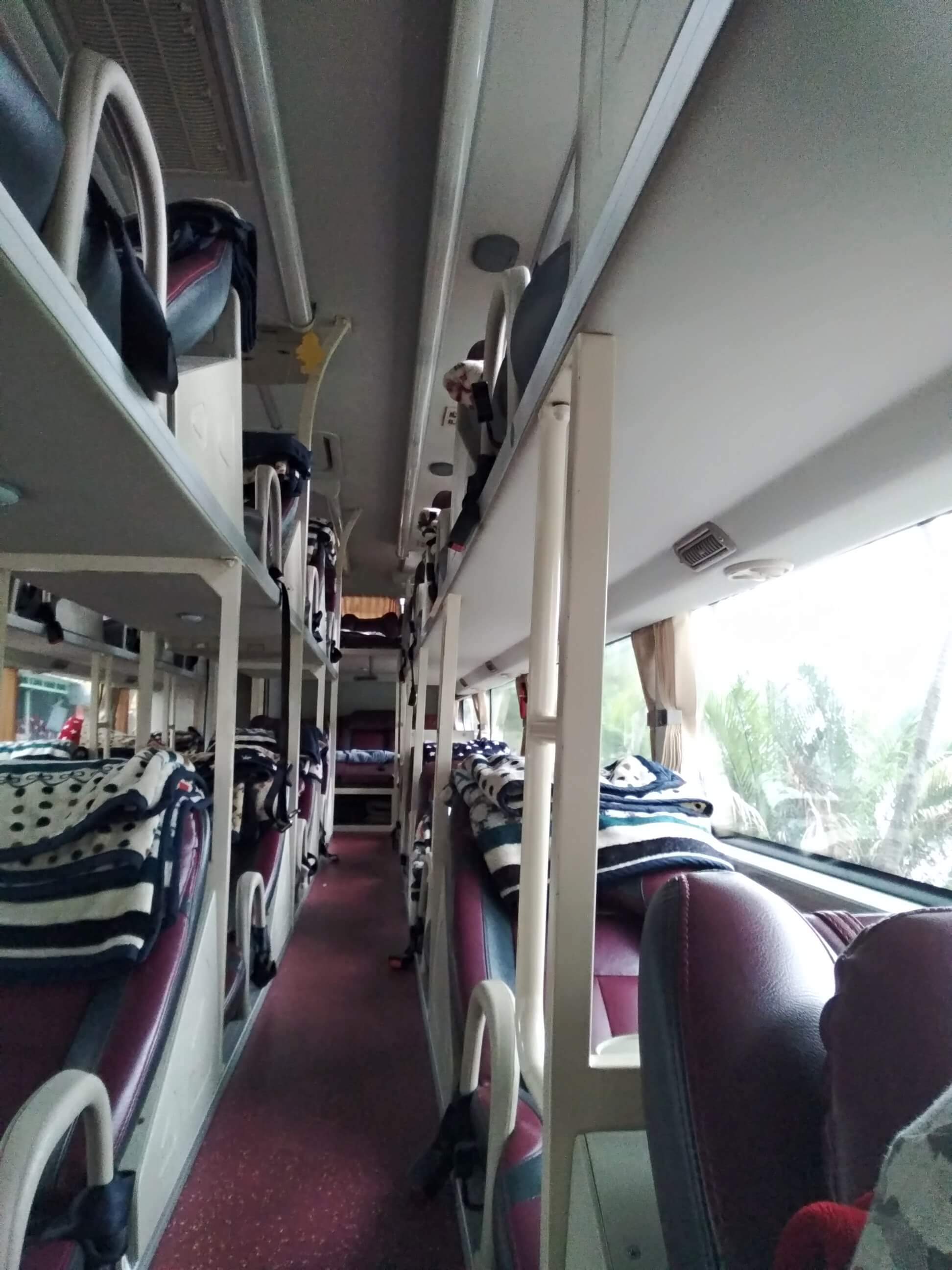lůžkový bus ve vietnamu