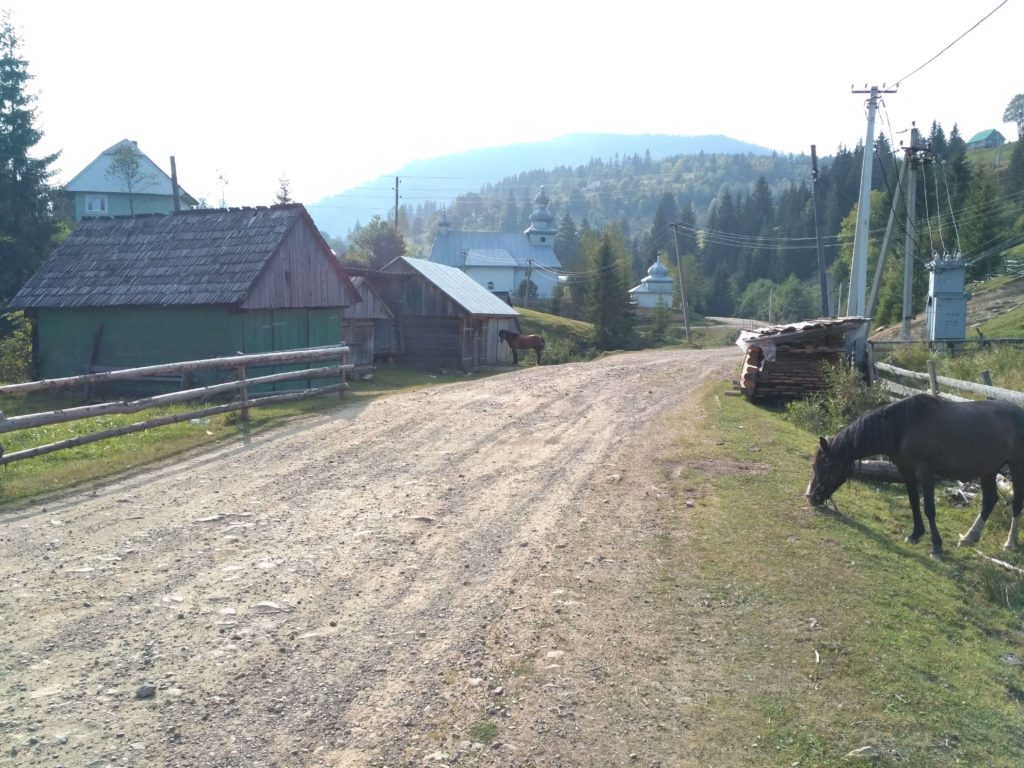 vesnice Svoboda Zakarpatí