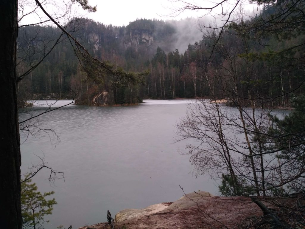 jezero Pískovec